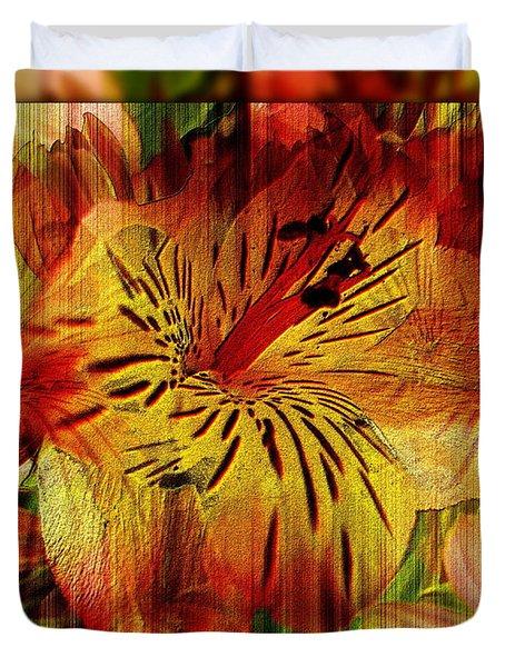 Petal Paradigm Duvet Cover by Tim Allen