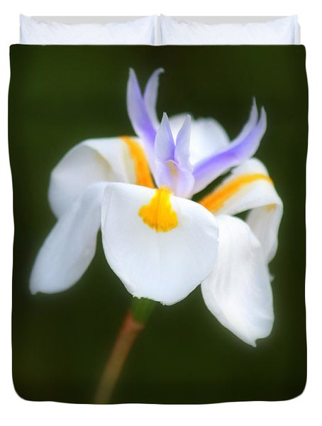 Duvet Cover featuring the photograph Petite Flower by Patrick Witz