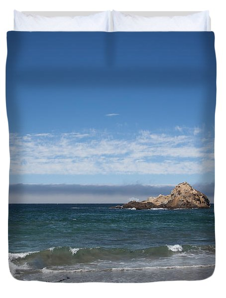 Pfeiffer Beach Duvet Cover by Ralf Kaiser
