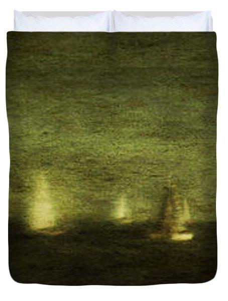 Phantom Fleet Duvet Cover by Andrew Paranavitana