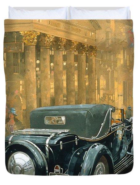 Phantom In The Haymarket  Duvet Cover by Peter Miller