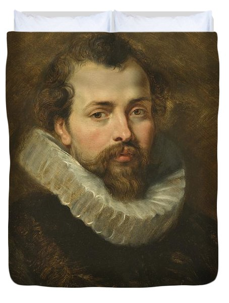 Philippe Rubens - The Artist's Brother Duvet Cover by Peter Paul Rubens