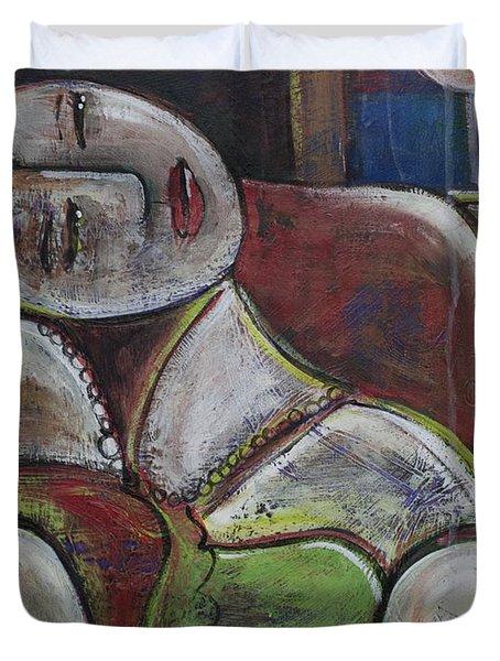 Picasso Dream For Luna Duvet Cover