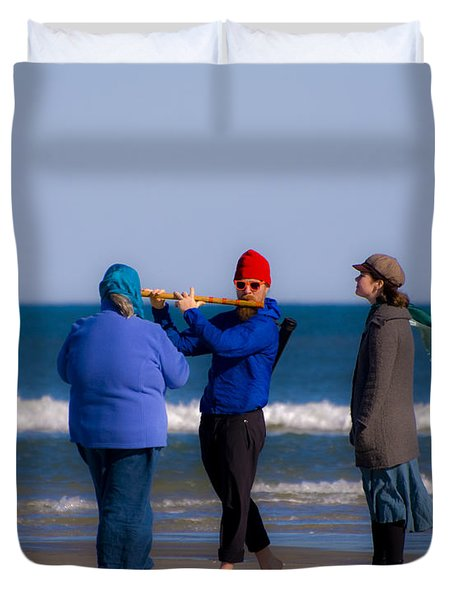 Pied Piper Duvet Cover by Al Powell Photography USA
