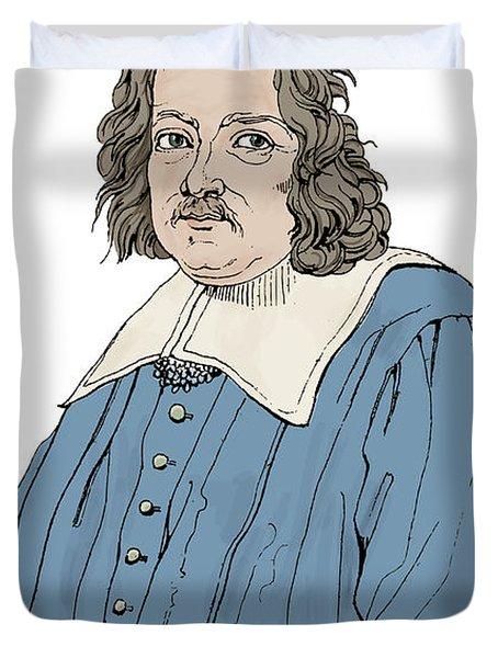 Pierre De Fermat, French Mathematician Duvet Cover by Science Source