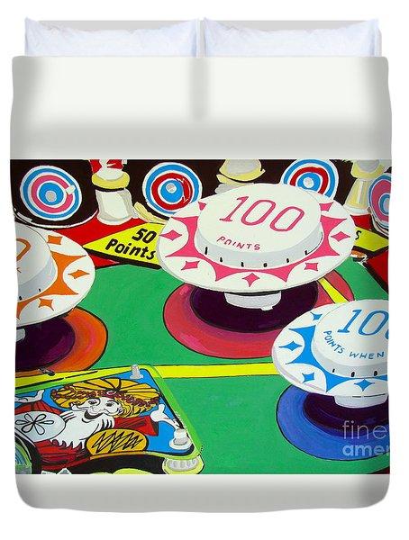 Pinball Wizard Duvet Cover