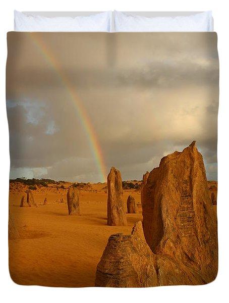 Pinnacle Rainbow Duvet Cover