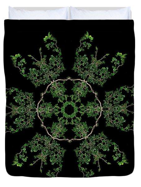 Pinwheel II Duvet Cover by Debra and Dave Vanderlaan