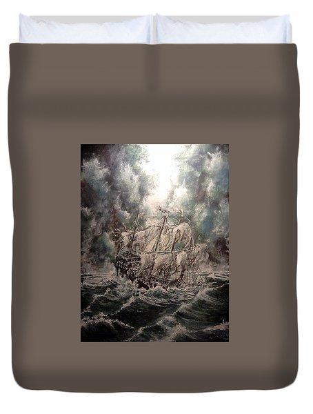 Pirate Islands 2 Duvet Cover by Robert Tarrant