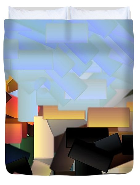 Playground Duvet Cover by Donna G Smith