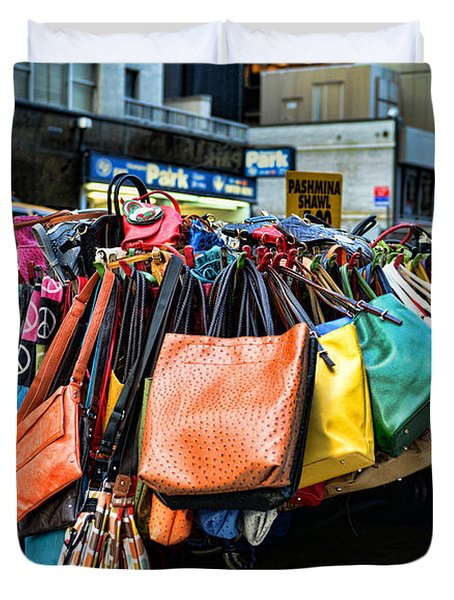 Pocketbooks And Purses Duvet Cover