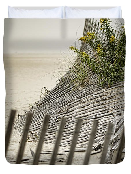 Point Pleasant Beach Duvet Cover by Heather Applegate