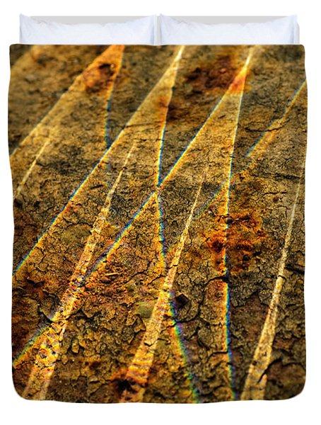 Points Of Light Duvet Cover