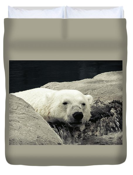 Polar Relaxation Duvet Cover