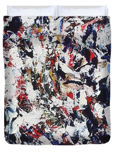 Pollock Duvet Cover