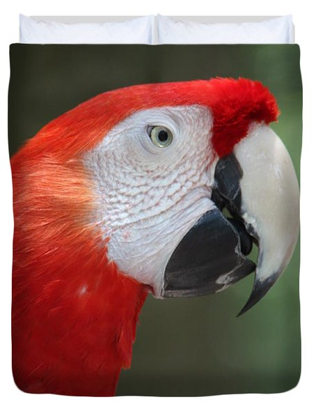 Duvet Cover featuring the photograph Polly by Patrick Witz
