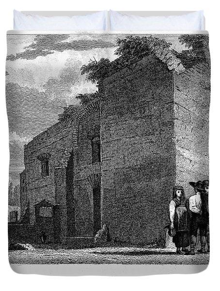 Pompeii: Bathhouse, C1830 Duvet Cover