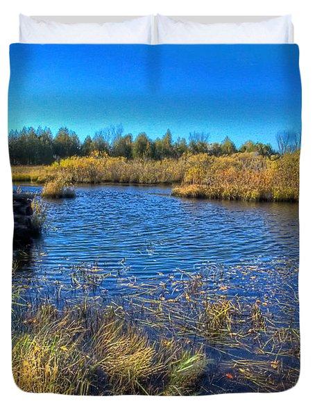 Pond 1 Today.psd Duvet Cover