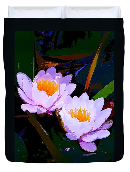 Pond Lily 16 Duvet Cover