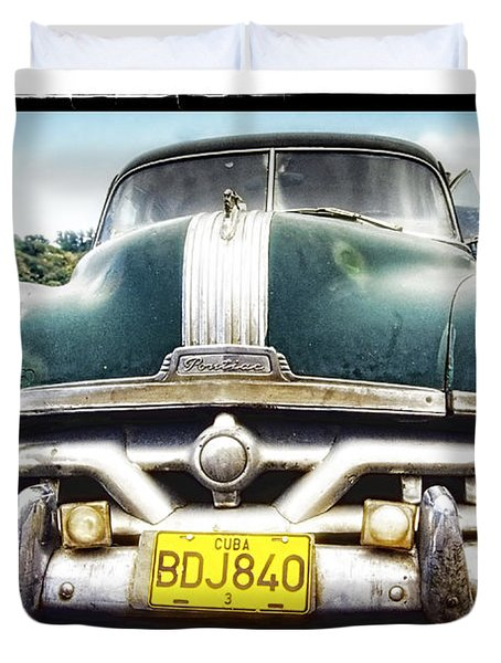 Pontiac  Duvet Cover by Mauro Celotti