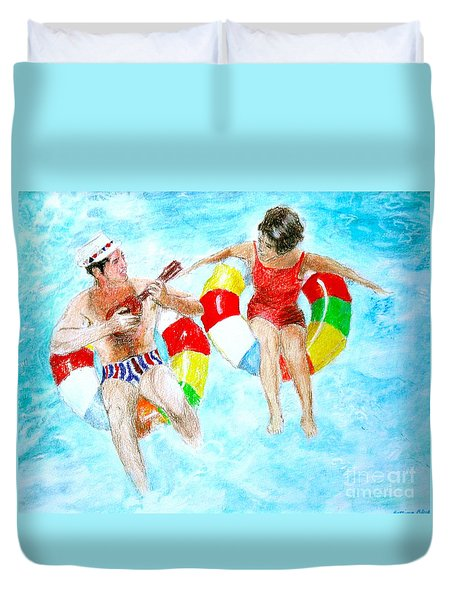 Pool Duvet Cover