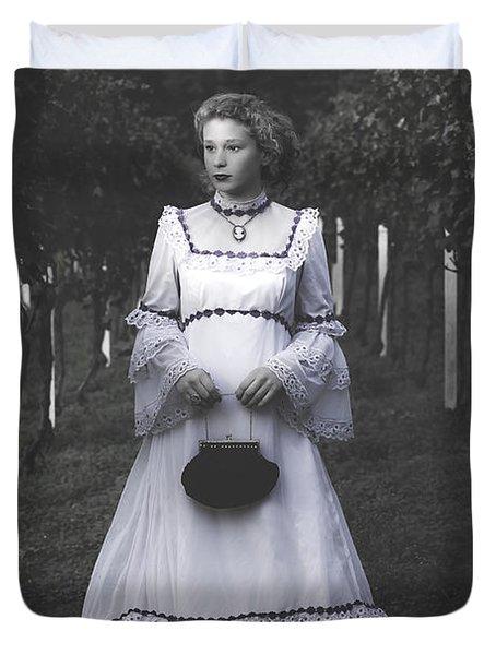 Porcelain Doll Duvet Cover by Joana Kruse