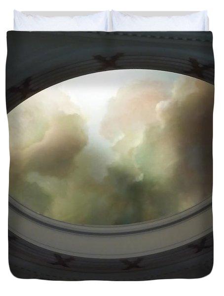 Portal To Heaven Duvet Cover
