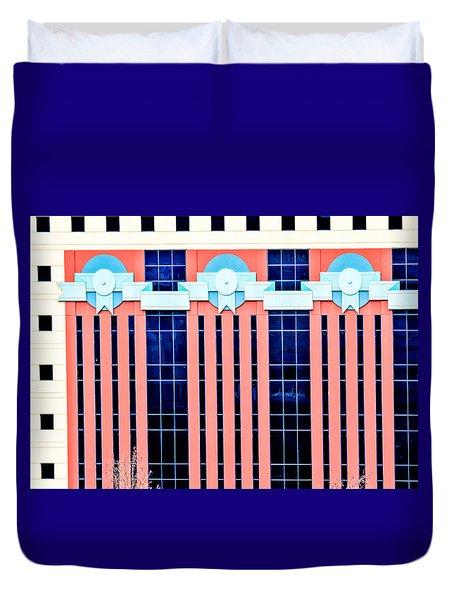 The Portland Building Duvet Cover