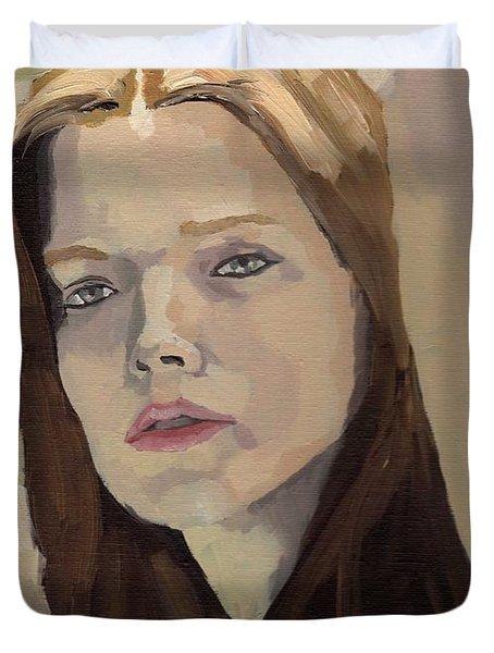 Portrait Of Ashley Duvet Cover
