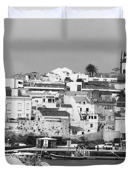 Portuguese City Duvet Cover by Gaspar Avila