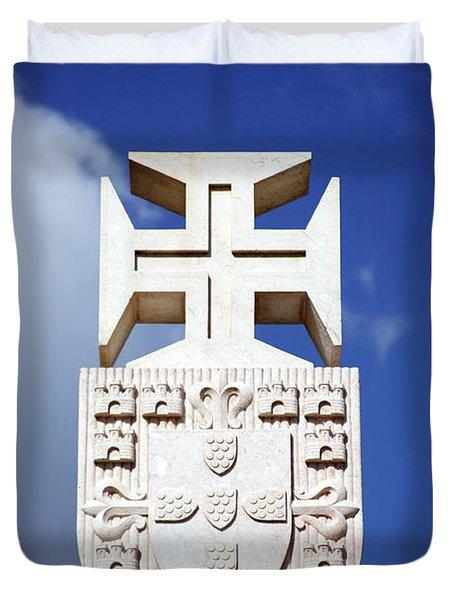 Portuguese Symbology Duvet Cover by Gaspar Avila