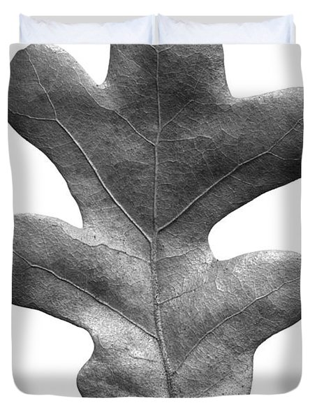 Post Oak Leaf Duvet Cover