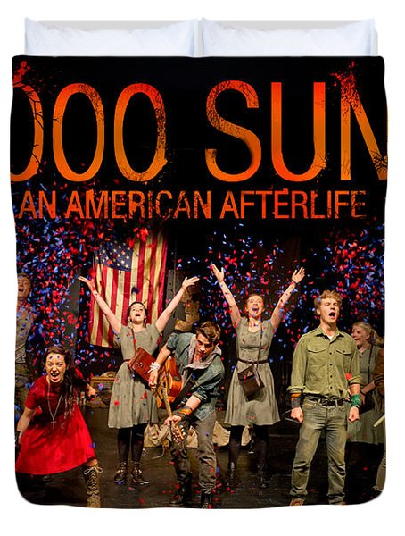 Poster For 1000 Suns - An American Afterlife Duvet Cover