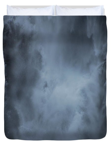 Power Of Water Duvet Cover