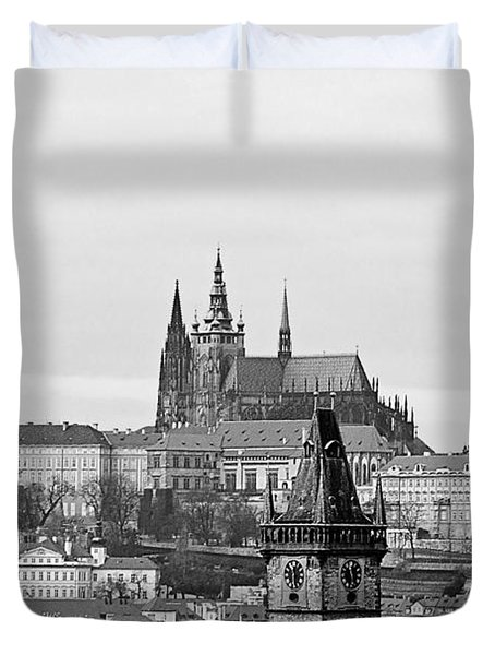 Prague - City Of A Hundred Spires Duvet Cover
