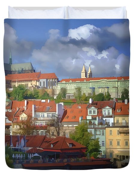 Prague Dreams Duvet Cover