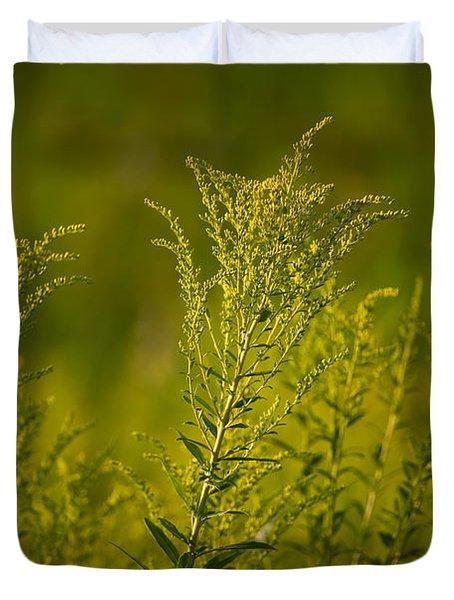 Prairie Goldenrod Duvet Cover