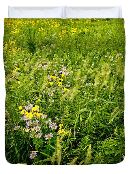 Prairie Tapestry Duvet Cover by Steve Gadomski
