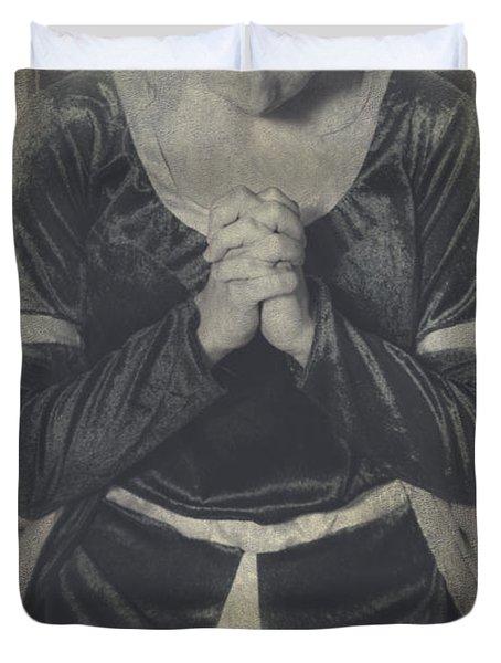 Prayer Duvet Cover by Joana Kruse