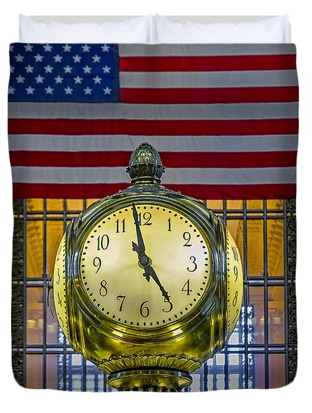 Precious Time And Colors Duvet Cover by Susan Candelario