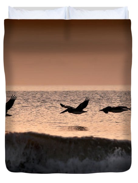 Predawn Formation Duvet Cover