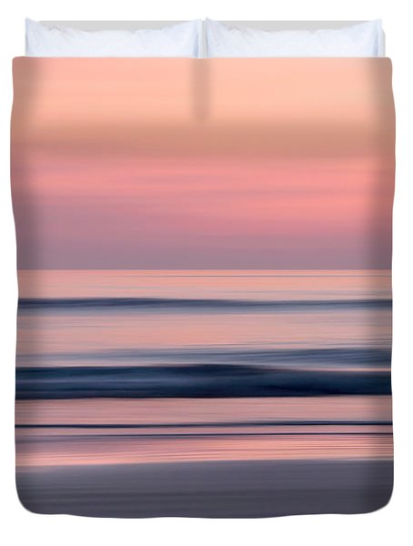 Predawn Surf I Duvet Cover