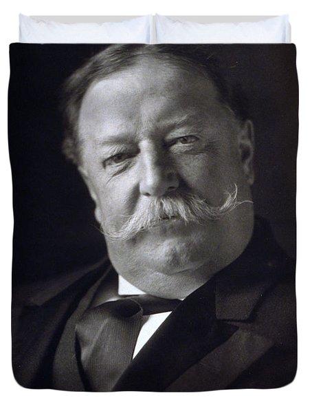 President William Howard Taft Duvet Cover by International  Images