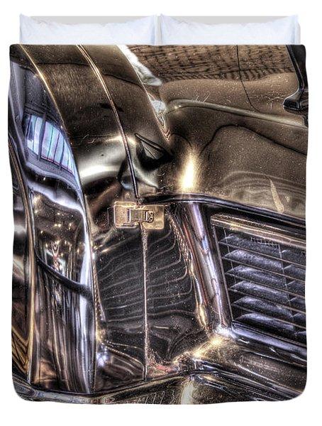 Presidential Lincoln Tail Lights Dearborn Mi Duvet Cover by Nicholas  Grunas
