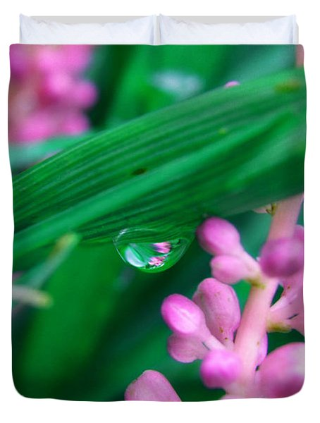 Pretty In Pink  Duvet Cover by Peggy Franz