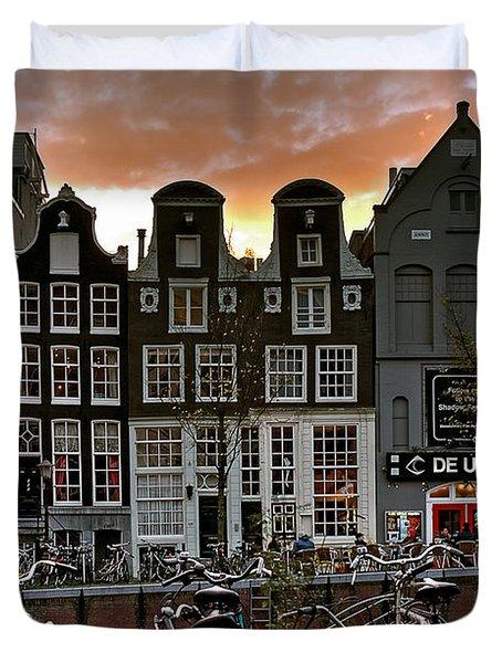Prinsengracht 458. Amsterdam Duvet Cover