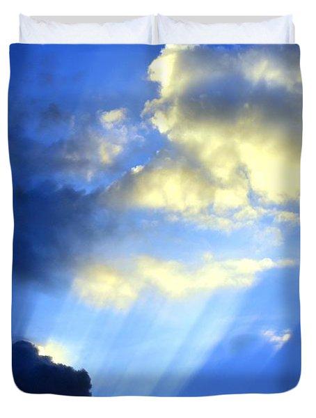 Prismed Duvet Cover by Maria Urso