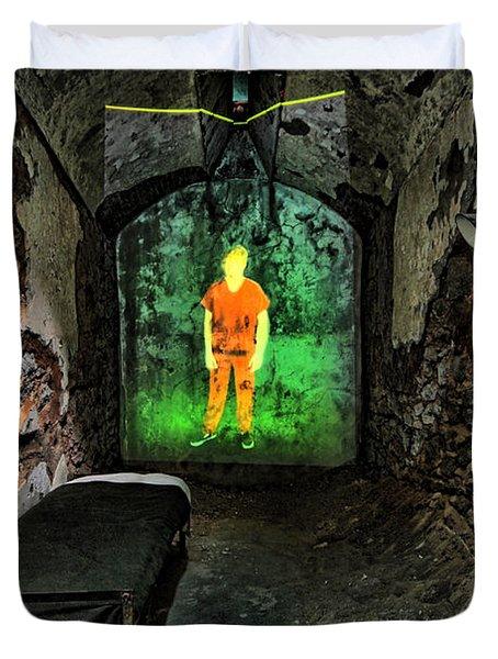 Prisoner Of The Soul Duvet Cover by Andrew Paranavitana