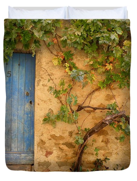 Provence Door 5 Duvet Cover by Lainie Wrightson