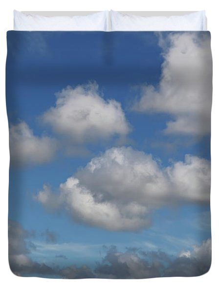 Puff Clouds Duvet Cover